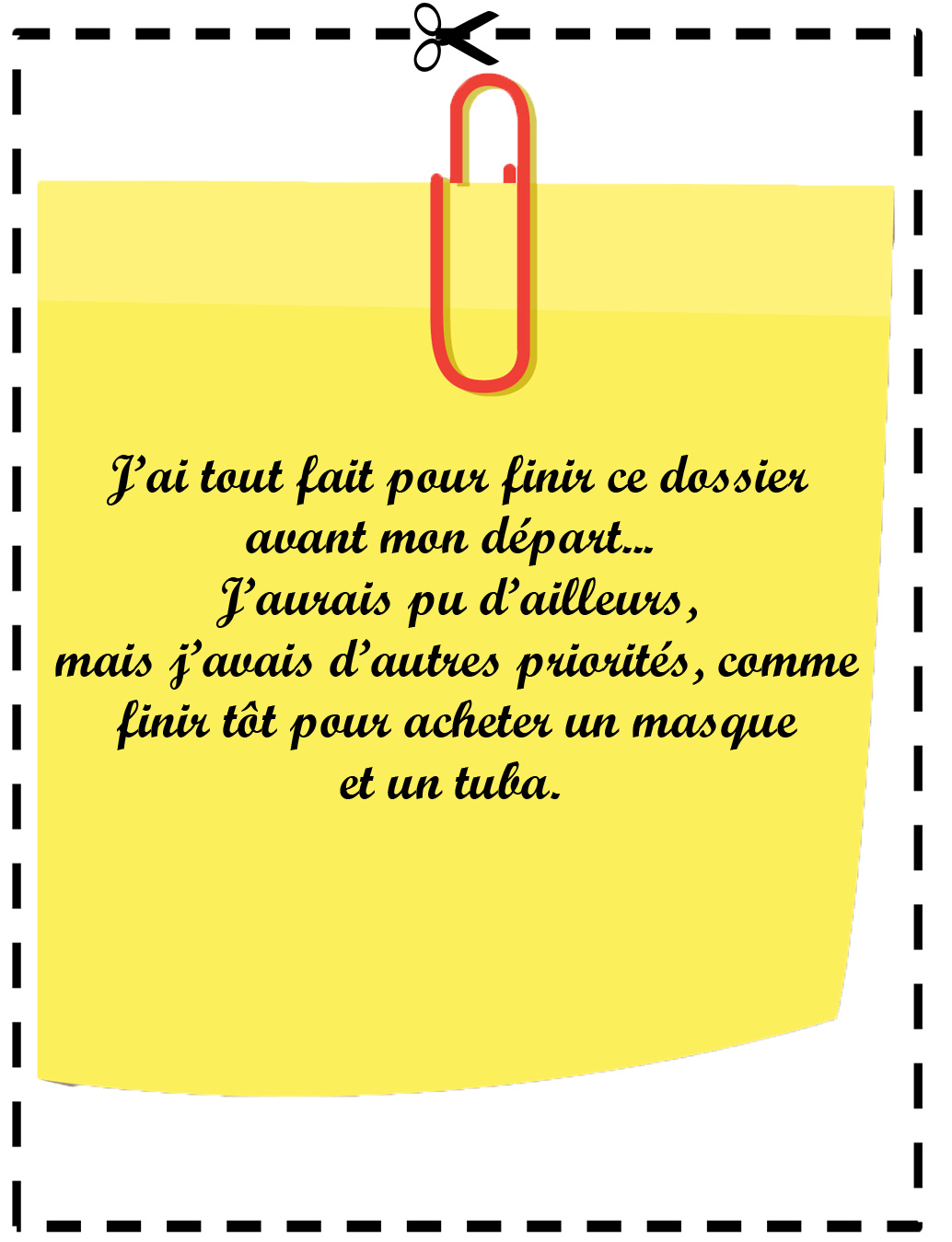 Mieux Que Le Message D Absence Le Post It D Absence