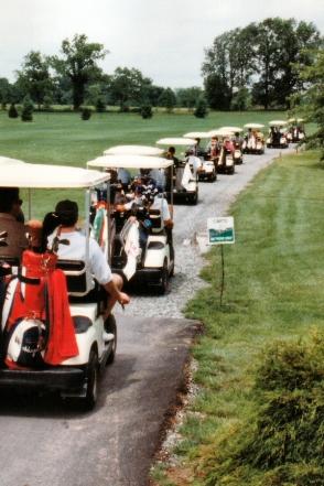 l'équipe planche actuellement sur l'extension du service aux voiturettes de golf. Une bonne façon d'amener du collectif même dans les sports individuels !