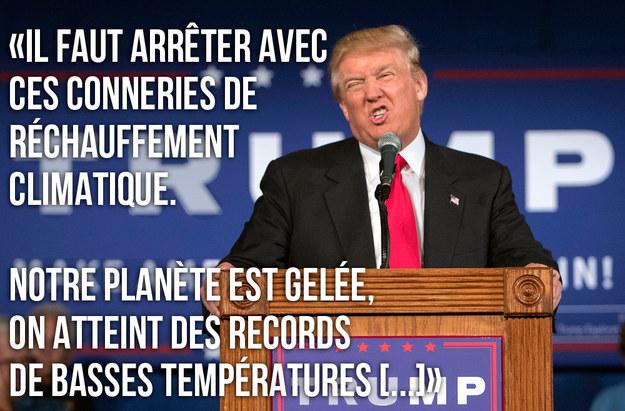 rechauffement-climatique-donald-trump